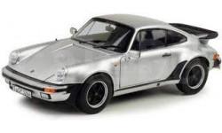 PORSCHE 911 Turbo 3.3L (930) 1977 Silver  1/18 Norev