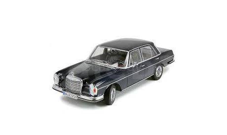 Mercedes-Benz 280SE W108 dark blue 1:18 Norev dealer, масштабная модель, 1/18