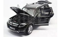 Mercedes-Benz GLK 2013 black 1:18 Welly GTA, масштабная модель, scale18