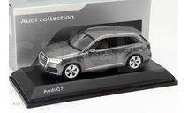 Audi Q7 2015 graphite Grey 1:43 Spark, масштабная модель, 1/43