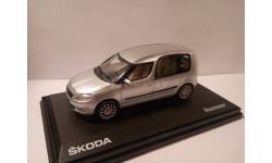 Skoda Roomster 1/43 серебристая