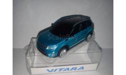 Suzuki Vitara 2015 1/43 синий металлик С РУБЛЯ!!!!