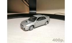 Subaru Impreza Cararama, масштабная модель, Bauer/Cararama/Hongwell, 1:43, 1/43