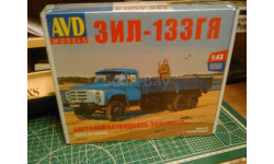 ЗиЛ-133ГЯ AVD, сборная модель автомобиля, AVD Models, 1:43, 1/43