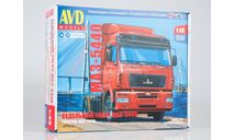 МАЗ-5440 AVD Рестайлинг, сборная модель автомобиля, AVD Models, scale43