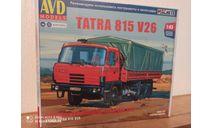 TATRA 815 V26 AVD Models, сборная модель автомобиля, scale43