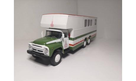 ЗИЛ 133 Г1 перевозка лошадей, масштабная модель, DeAgostini, scale43
