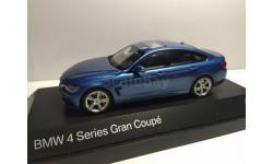BMW 4 series Gran Coupe, масштабная модель, Дилерская модель, 1:43, 1/43