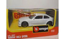 BMW M3, масштабная модель, Burago, scale43