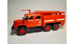 ЗИЛ-131 пожарный, масштабная модель, Элекон, scale43