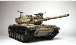 танк М60, масштабные модели бронетехники, Italeri, scale35