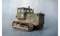 Модель трактор Т-100, масштабная модель трактора, AVD Models, scale43, ЧТЗ