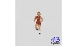 211a девушка-спортсменка фигурка 1/43 43figures