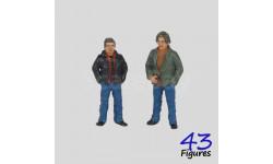 418ab Сэм и Дин Винчестеры фигурки 1/43 43figures, фигурка, 1:43