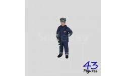 511a инспектор ДПС ГИБДД России 1/43 43figures, фигурка, 1:43