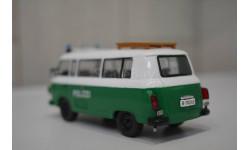Barkas B1000 полиция 1:43, масштабная модель, Полицейские машины мира, Deagostini, scale43