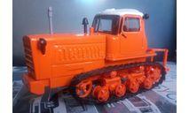 ДТ-75 (1000р. за 4 шт.), масштабная модель трактора, Hachette, 1:43, 1/43
