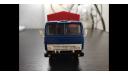 Камаз-5320 тент синий/красный из коллекции С002, масштабная модель, scale0