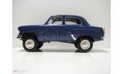 Москвич-410 Легендарные советские Автомобили №47, Код модели: LSA47, журнальная серия масштабных моделей, Hachette, scale24