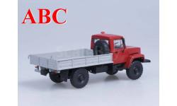 Горький-33081 4х4 (двиг. Д-245.7 Diesel Turbo) выставочный, Код модели: 100350.в, масштабная модель, Автоистория (АИСТ), scale43, ГАЗ