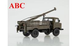 Бурильная машина БМ-302 (66) , Код модели: 100800, масштабная модель, ГАЗ, Автоистория (АИСТ), 1:43, 1/43