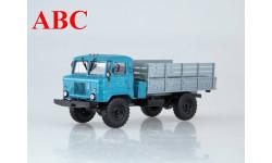 Горький-66 бортовой (голубой/серый), Код модели: 100855, масштабная модель, AVD Models, scale43, ГАЗ