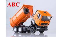 МАЗ-6501 самосвал, U-образный кузов (оранжевый), Код модели: 101333.оранж, масштабная модель, Автоистория (АИСТ), 1:43, 1/43
