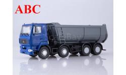 МАЗ-6516 самосвал, U-образный кузов (синий/серый), Код модели: 101388.синсер, масштабная модель, Автоистория (АИСТ), scale43