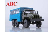 Вахтовый автобус НЕФАЗ-42112 (4320) , Код модели: 101425.ва, масштабная модель, Автоистория (АИСТ), scale43, УРАЛ