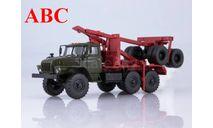 Миасский грузовик 43204-10 лесовоз с прицепом-роспуском , Код модели: 101449, масштабная модель, УРАЛ, Автоистория (АИСТ), scale43