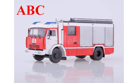 АЦ-3,2-40 (КАМАЗ-43253), Код модели: 102019, масштабная модель, Автоистория (АИСТ), 1:43, 1/43
