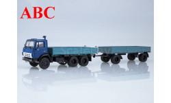 КАМАЗ-5320 с прицепом ГКБ-8350, Код модели: 102071, масштабная модель, Автоистория (АИСТ), 1:43, 1/43