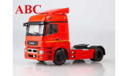 КАМАЗ-5490 седельный тягач (красный), Код модели: 102538