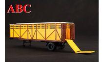 Полуприцеп-скотовоз ОДАЗ-857Б, Код модели: 102590, масштабная модель, Автоистория (АИСТ), scale43