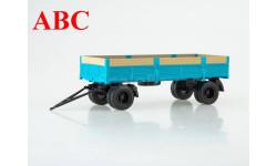 Прицеп ГКБ-8350 бортовой (с надставными бортами) , Код модели: 104149, масштабная модель, Автоистория (АИСТ), scale43