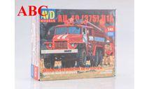 Сборная модель Пожарная цистерна АЦ-40(УРАЛ-375)Ц1А , Код модели: 1298AVD, сборная модель автомобиля, AVD Models, scale43