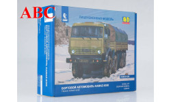Сборная модель КАМАЗ-6350 8x8 бортовой, Код модели: 1308AVD, сборная модель автомобиля, ЗИЛ, AVD Models, 1:43, 1/43