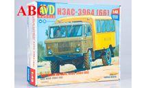 Сборная модель Вахтовый автобус НЗАС-3964 (66)  , Код модели: 1383AVD, сборная модель автомобиля, ГАЗ, AVD Models, scale43