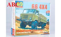 Сборная модель Армейский грузовик Горький-66 4х4   , Код модели: 1384AVD, сборная модель автомобиля, ГАЗ, AVD Models, scale43