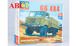 Сборная модель Армейский грузовик Горький-66 4х4   , Код модели: 1384AVD