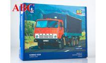 Сборная модель КАМАЗ-5320 бортовой с тентом , Код модели: 1410AVD, сборная модель автомобиля, AVD Models, 1:43, 1/43