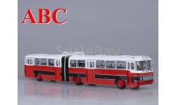 Икарус-180, красно-черный (Болгария), масштабная модель, Ikarus, Советский Автобус, 1:43, 1/43
