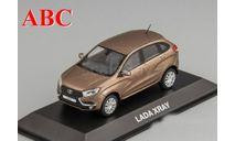 LADA XRAY коричневый металлик, Код модели:  4.02.90.504, масштабная модель, ВАЗ, Лада Имидж, 1:43, 1/43