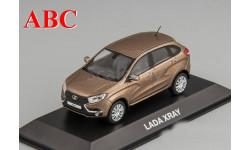LADA XRAY коричневый металлик, Код модели:  4.02.90.504