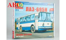 Сборная модель ЛАЗ-695Н, Код модели: 4029AVD, сборная модель автомобиля, AVD Models, scale43