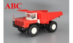 БЕЛАЗ-548 самосвал, красный / белый, Код модели: Н007