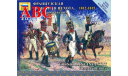 Французская линейная пехота. Командная группа , Код модели: 6816, миниатюры, фигуры, Звезда, 1:72, 1/72