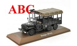 DODGE WC63 1 1/2 ton 6x6 1944, Код модели: 6690016, масштабная модель, Atlas, 1:43, 1/43