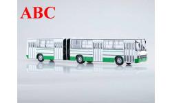 Ikarus-280.33 бело-зеленый, масштабная модель, Советский Автобус, scale43
