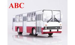Ikarus-260 бело-красный , Код модели: 900131, масштабная модель, Советский Автобус, scale43
